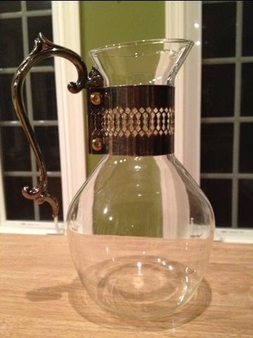 glass pitcher goodwill