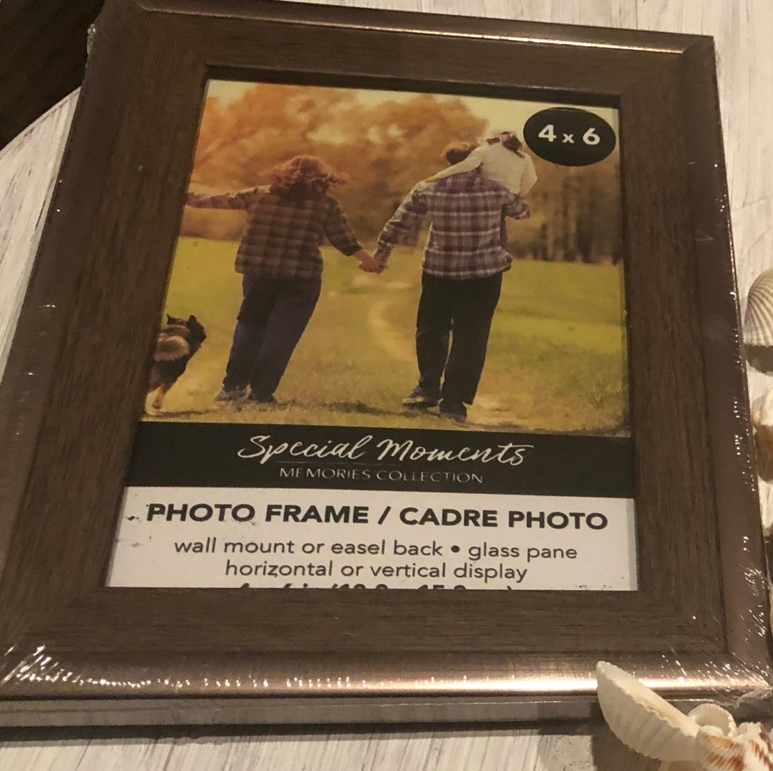 picture frame from dollar tree